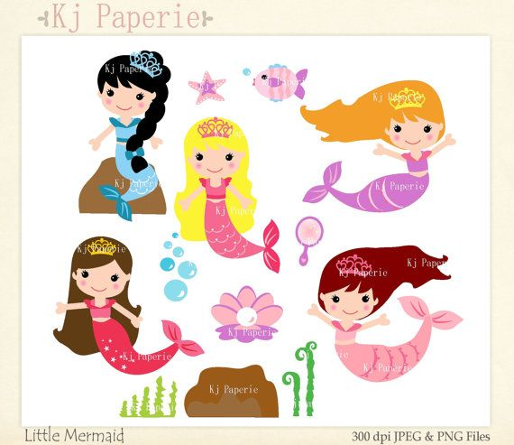 570x493 209 Best Bday Mermaid Images Hand Painted