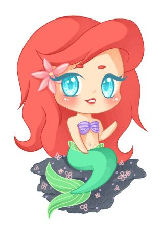 321x448 Peinandome Gifs Para Foros Mermaid And Disney S