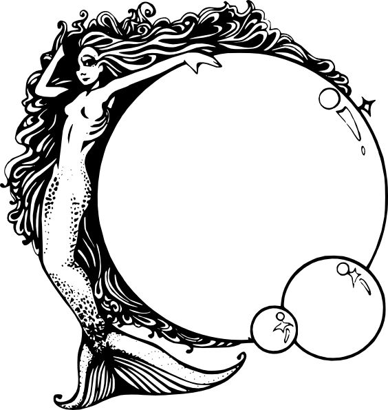 564x595 Best Mermaid Clipart Ideas Mermaid Vector