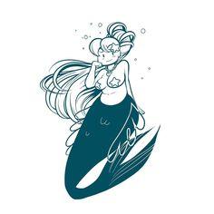 236x236 Maria Dark Lovers Anime Mermaid Melody Cute Girls