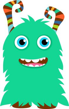 Cute Monster Clipart
