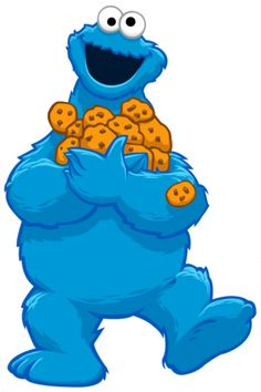 236x354 Cookie Monster Cookie Clipart