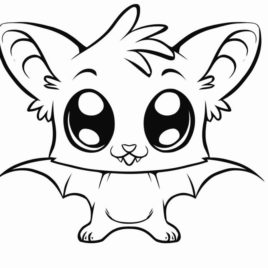 268x268 Cute Mouse Coloring Page Kids Drawing And Coloring Pages