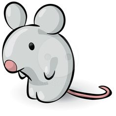 236x236 Cute Cartoon Mice Characters (Drawing Of A Cartoon Mouse
