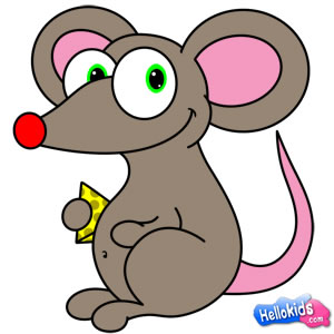 300x300 How To Draw Mouse Other Things For Kids Parenting