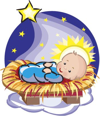 Cute Nativity Clipart