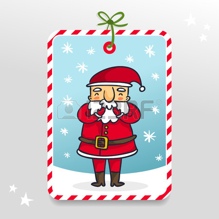 450x450 Funny Vector Christmas And New Year Holiday Banner, Vertical