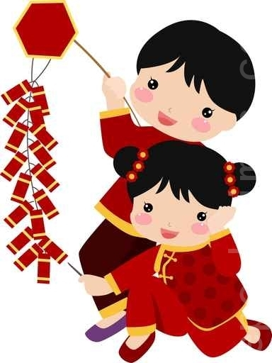 384x512 Cute Chinese New Year Clipart
