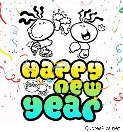 420x449 Cute New Year Drawings Merry Christmas Amp Happy New Year 2018 Quotes