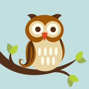 Cute Owls Clipart