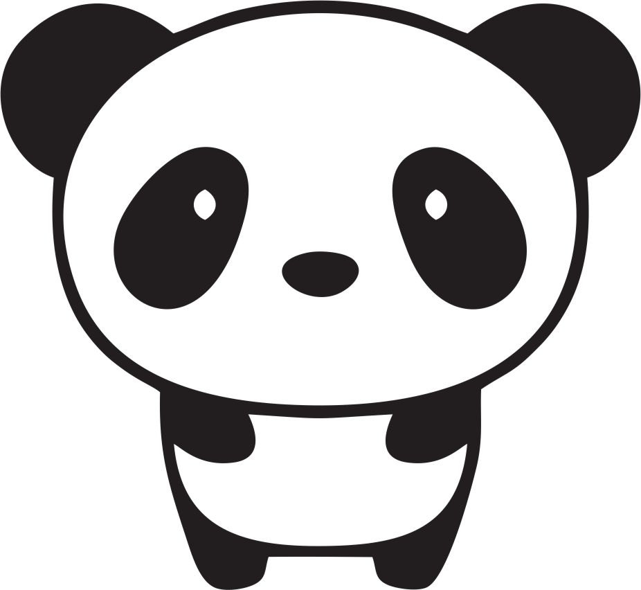 Cute Panda Bear Clipart | Free download on ClipArtMag