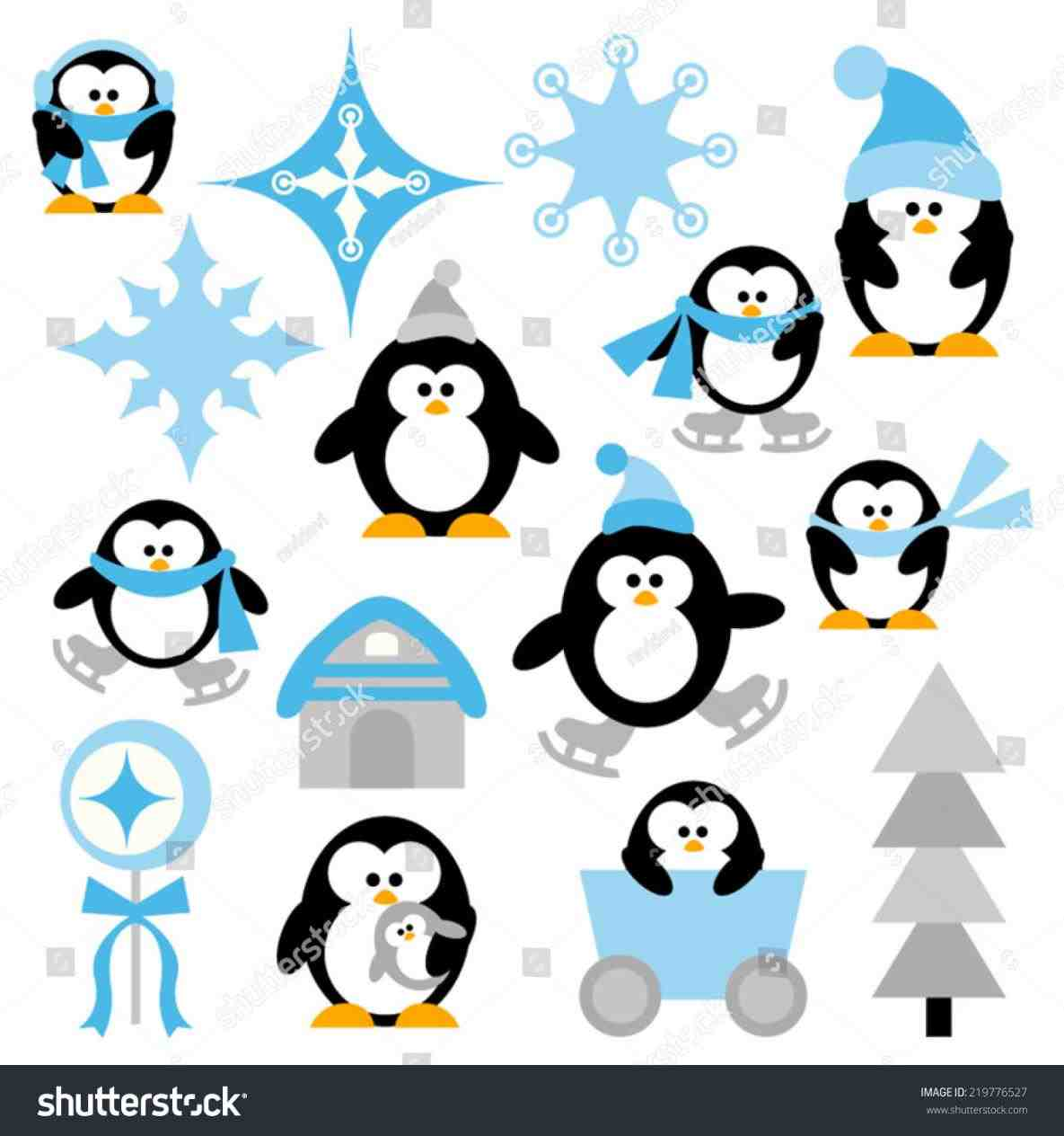1185x1264 Present Pencil And In Color Present Cute Christmas Penguin Clipart