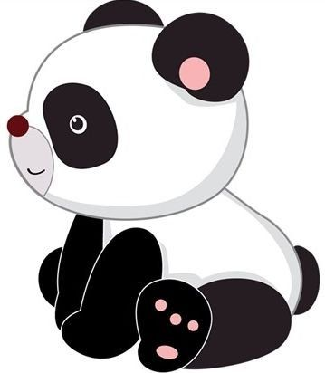 Cute Panda Clipart | Free download on ClipArtMag