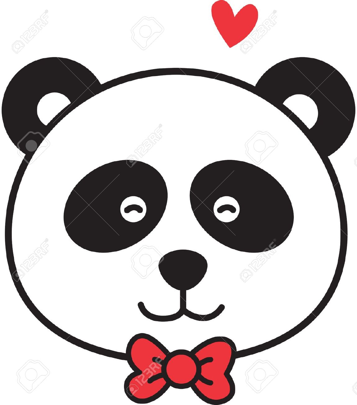 Cute Panda Drawing | Free download on ClipArtMag
