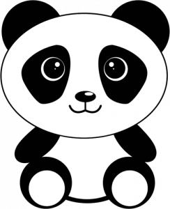 244x300 Coloring Pages Cartoon Panda Drawing Coloring Pages Cartoon