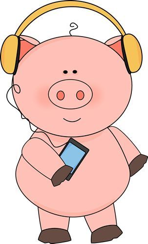 Cute Pig Clipart | Free download on ClipArtMag