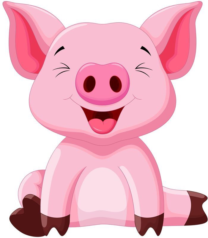 Cute Pig Face