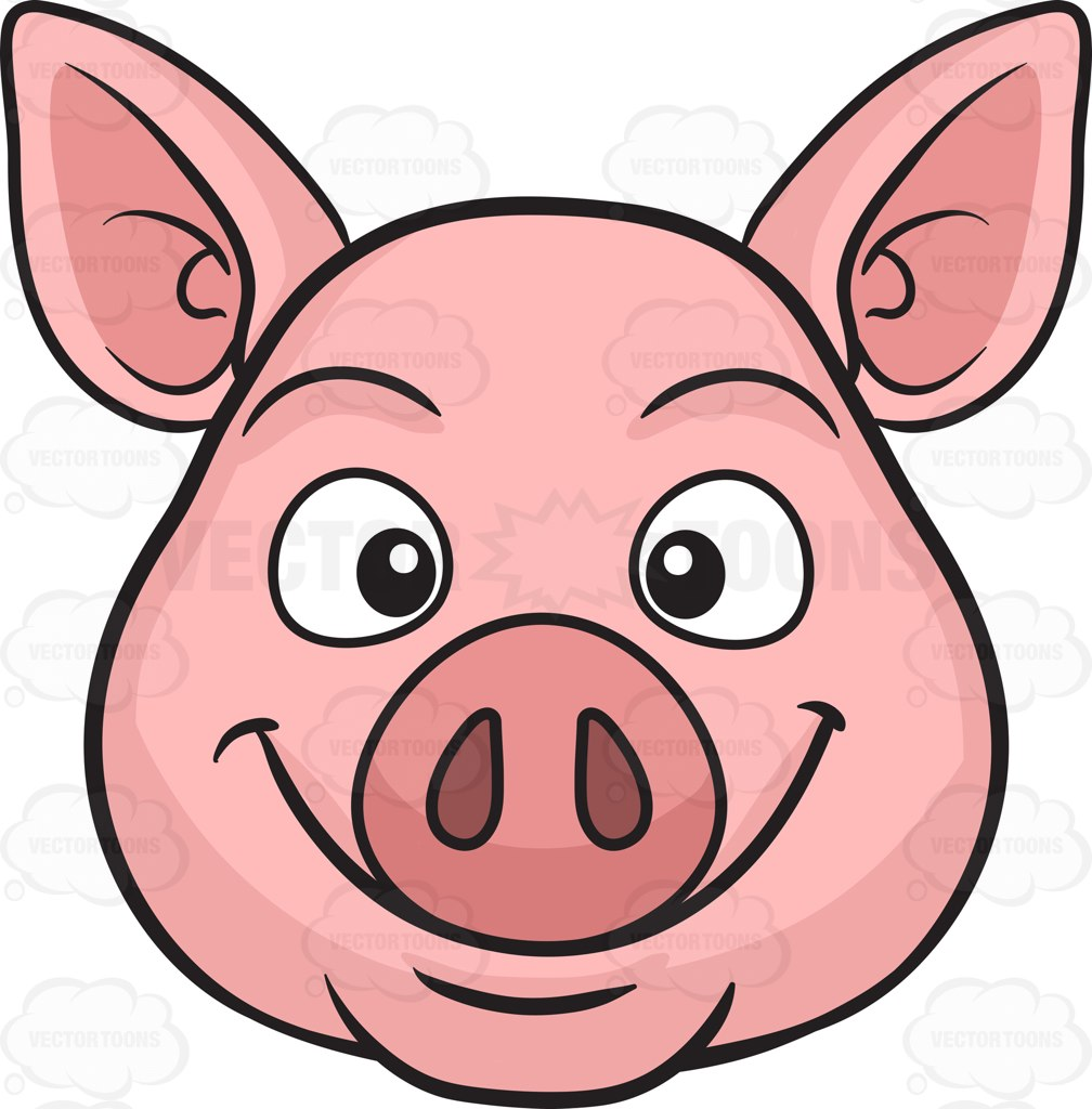 1008x1024 Pig Clipart Pig Face