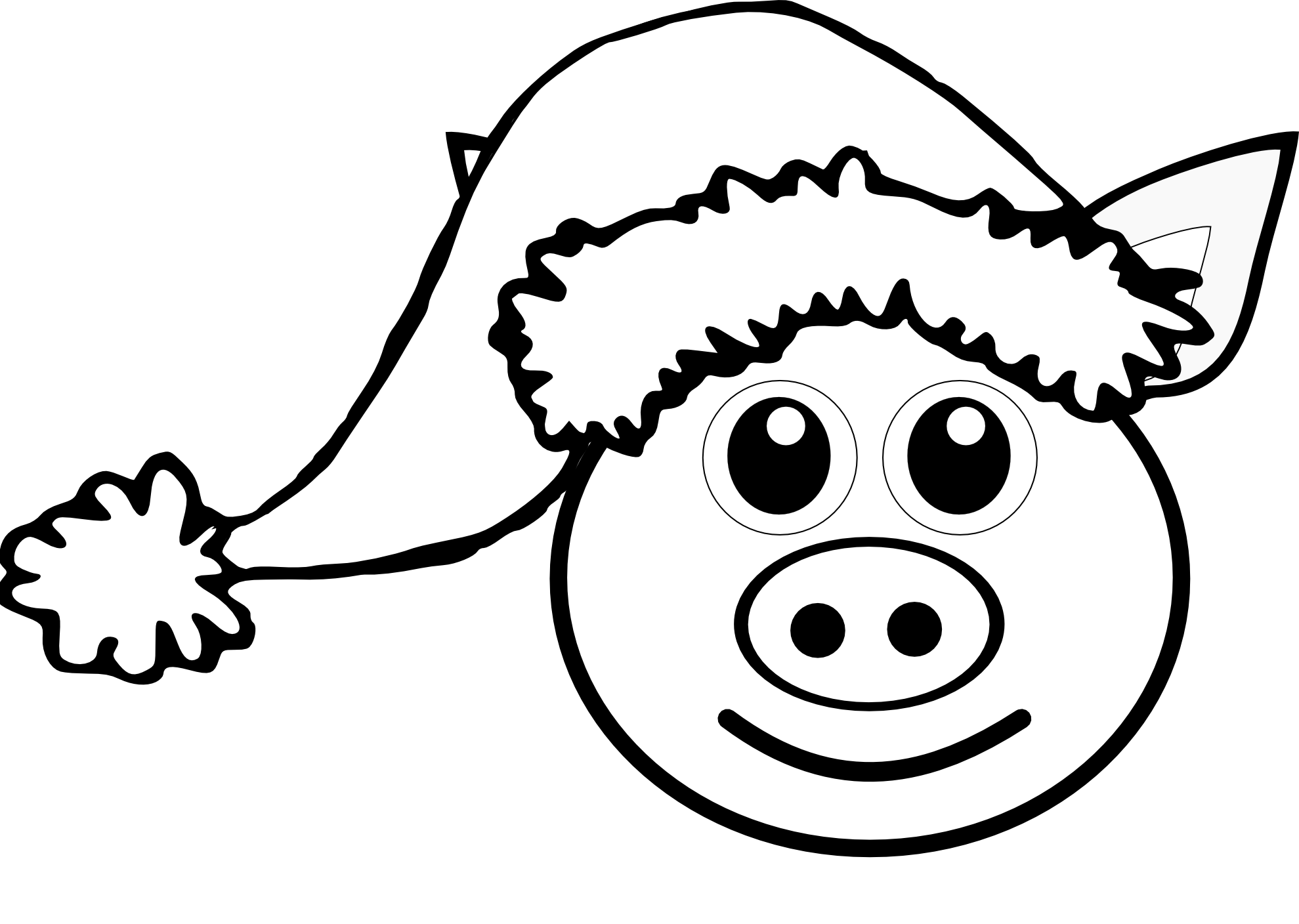 Cute Pig Face Clipart | Free download best Cute Pig Face Clipart on ...