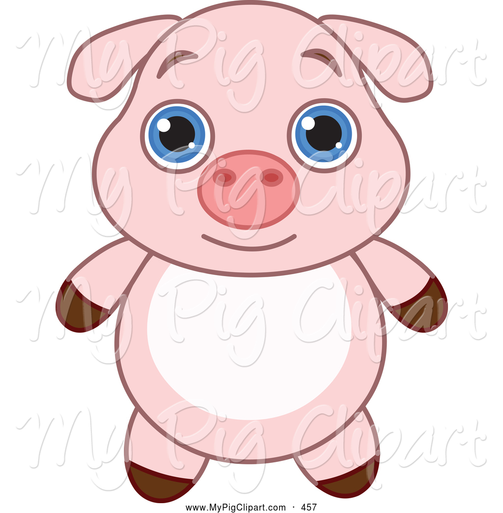 1024x1044 Fat Baby Pig Clipart