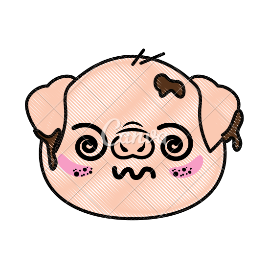 550x550 Isolated Cute Pig Face