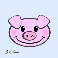 236x236 Pig Face Clipart