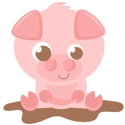 432x432 Bampw Clipart Pig