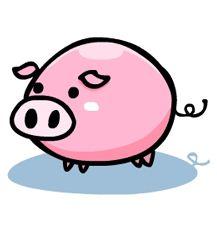 217x250 32 Best Pig Images Images Crafts, Cute Designs