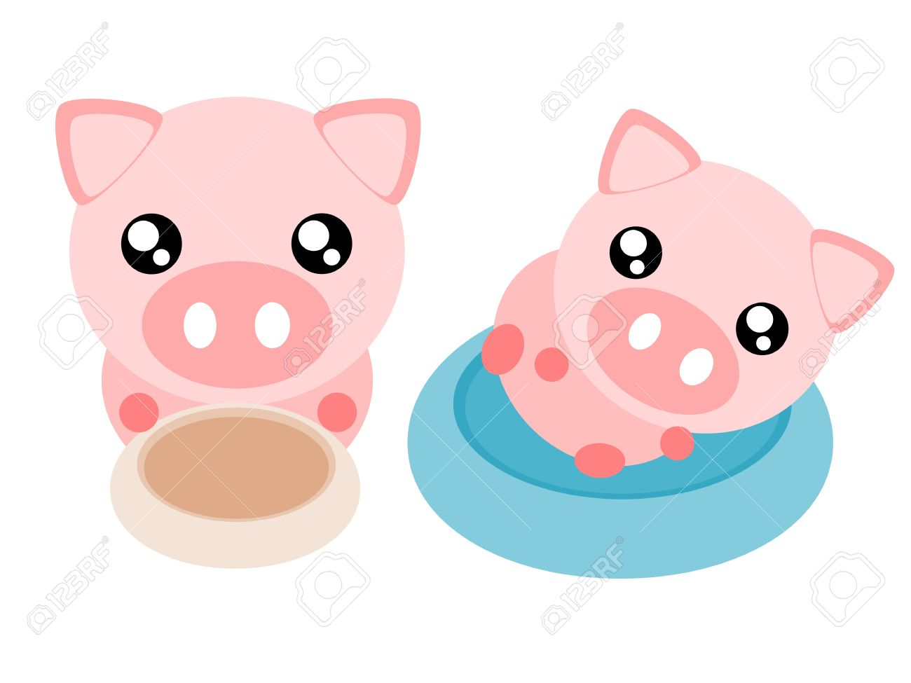 1300x975 Cute Pig Pictures Cartoon Collection
