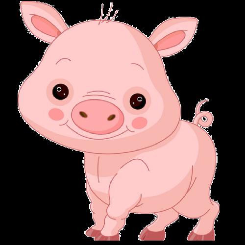 500x500 Pink Pig'S