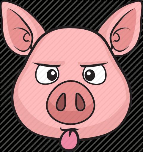 481x512 Animal, Cartoon, Cute, Emoji, Pig Icon Icon Search Engine
