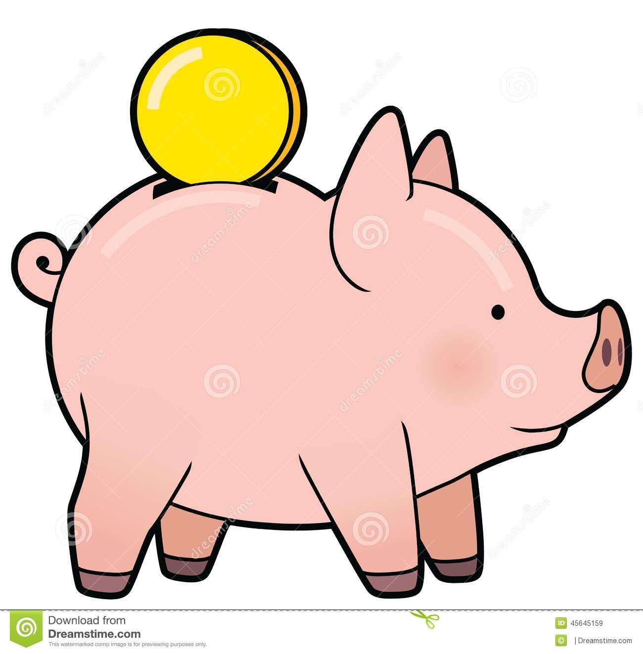 Cute Piggy Bank Clipart | Free Download Best Cute Piggy ...