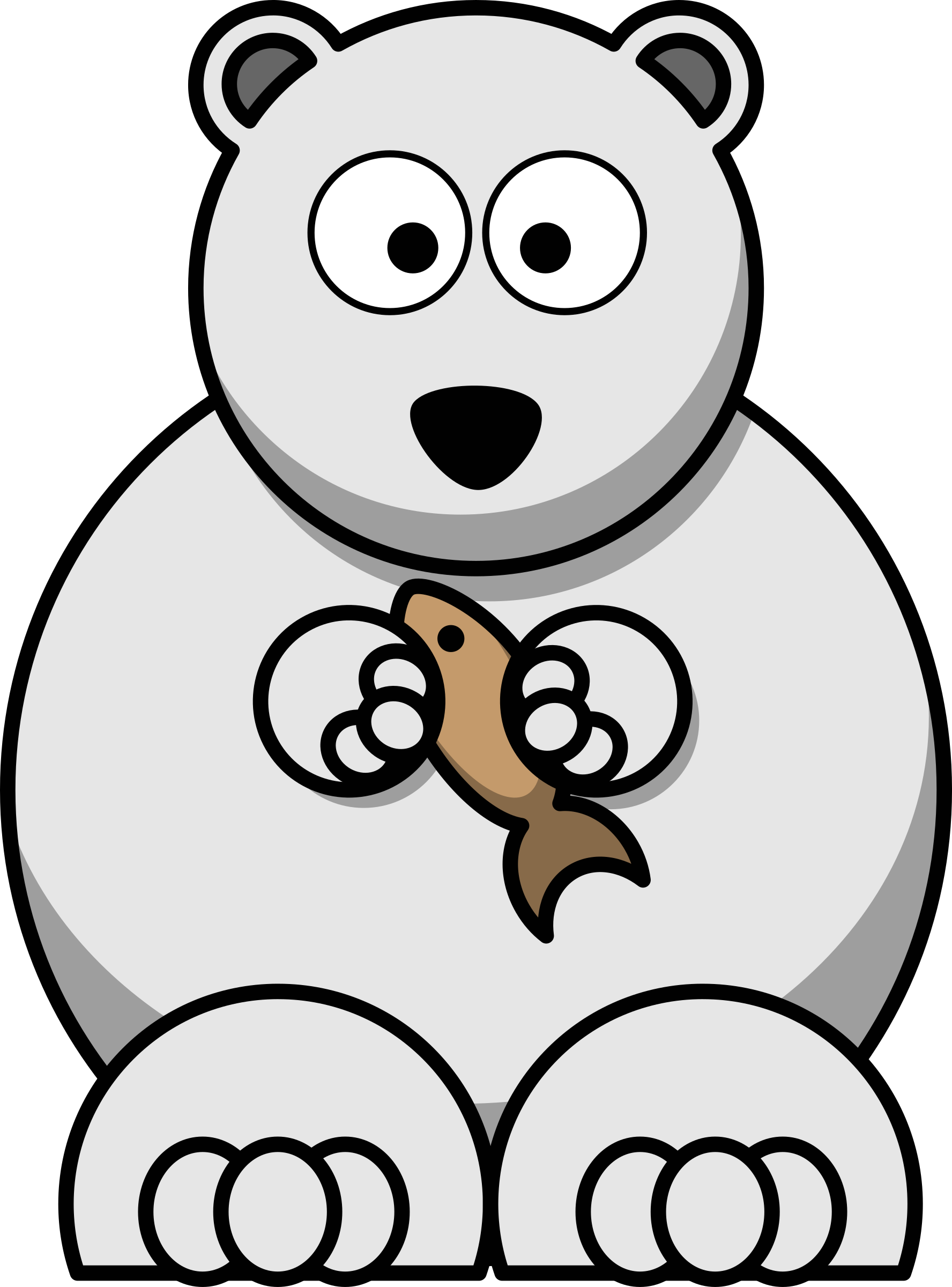 1776x2400 Cartoon Clipart Polar Bear