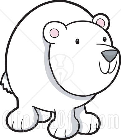 389x450 Polar Bear Plunge Clipart
