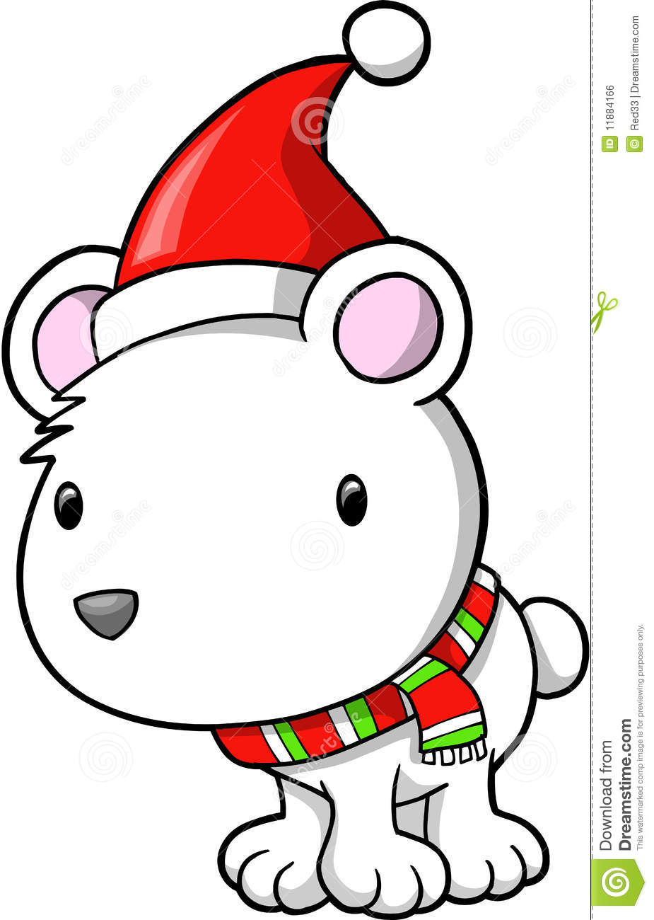 925x1300 Polar Bear Clipart Holiday