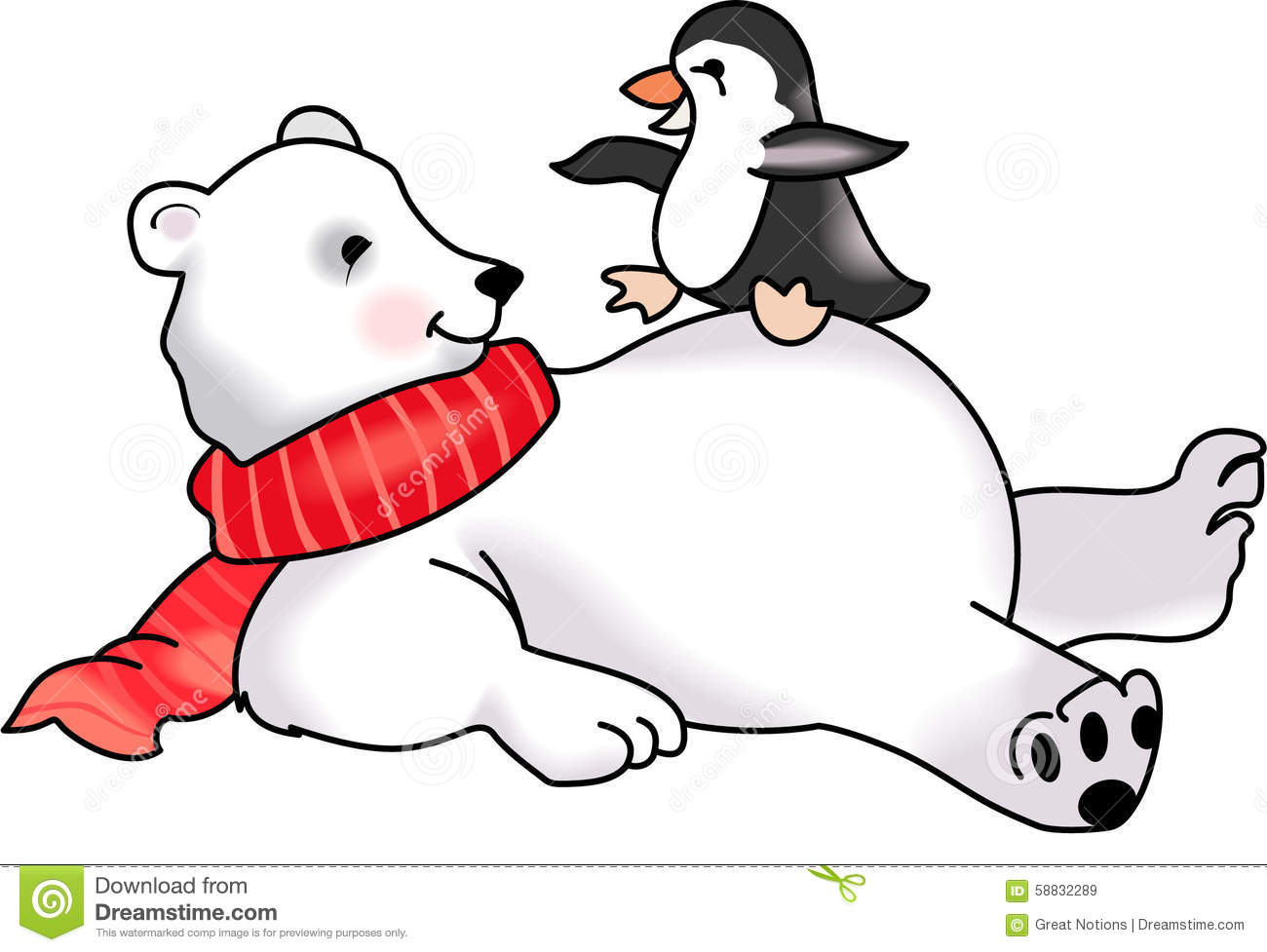 1300x977 Polar Bear Clipart Love