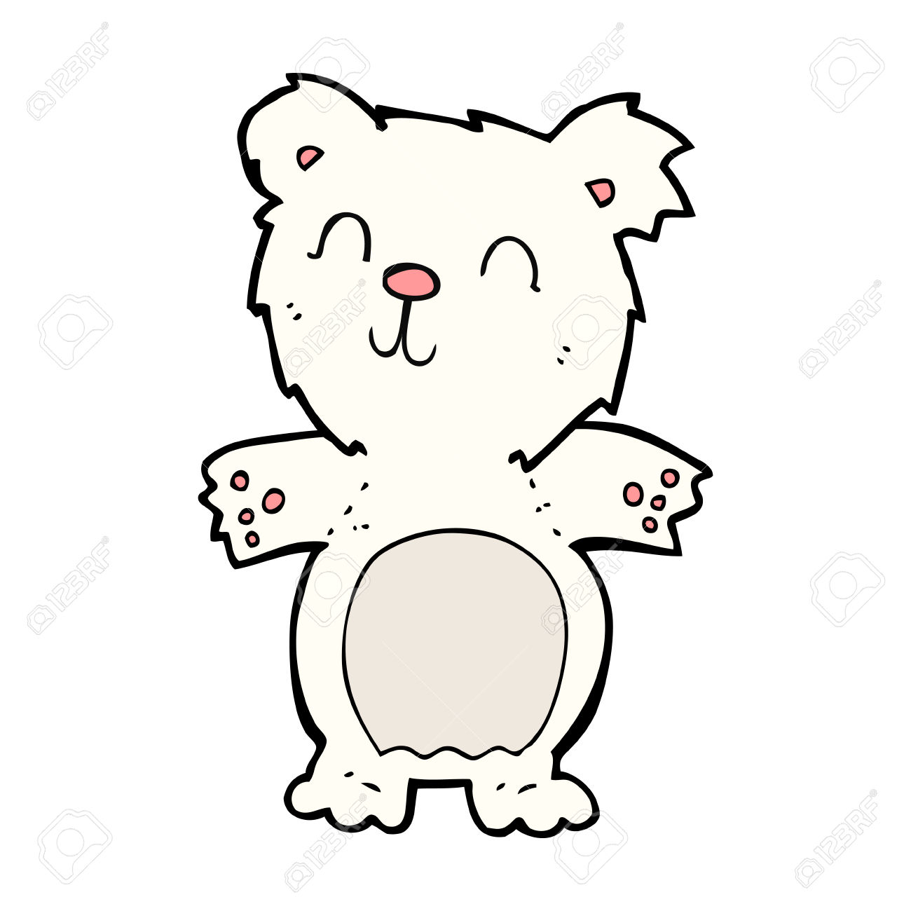 1300x1300 Bear Cub Clipart Cute Polar Bear