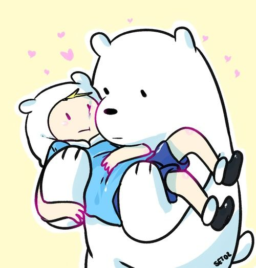 500x524 Best Polar Bear Cartoon Ideas Polar Bear