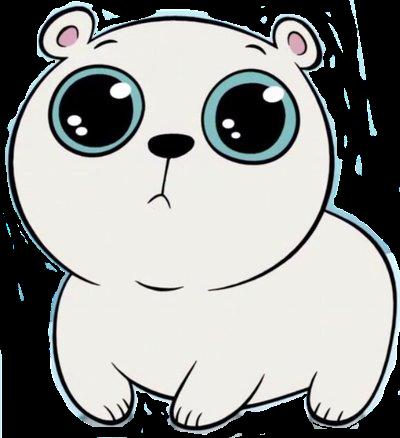 400x438 Cute Polar Bear (Star Vs The Forces Of Evil) By Sloanvandoren