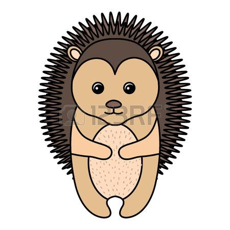 Cute Porcupine Clipart