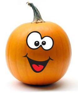 250x300 Squash Clipart Cute Halloween Pumpkin