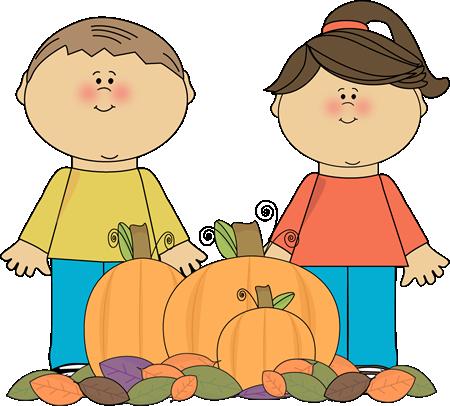 450x406 Cute Fall Pumpkin Clipart