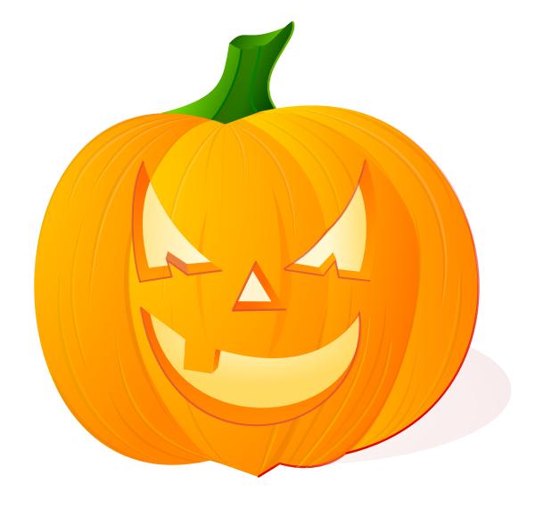 600x570 Cute Pumpkin Outline Clip Art Halloweenfunky