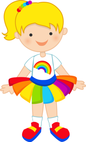 Cute Rainbow Clipart | Free download on ClipArtMag