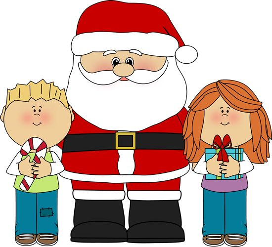 Cute Santa Clipart