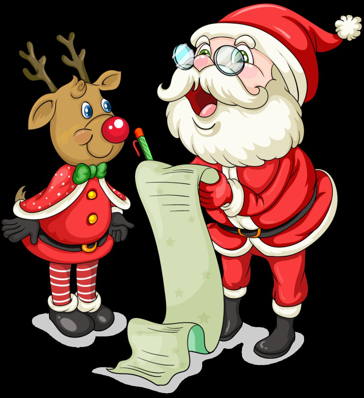 1172x1280 Cute Santa Christmas Clipart Santa, Christmas