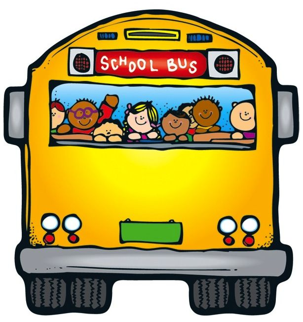 Cute School Bus Clipart