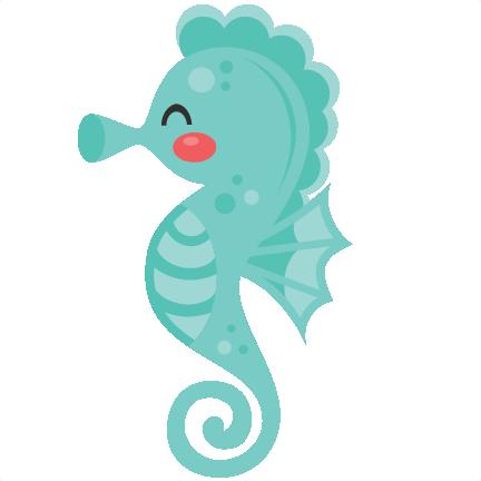 432x432 Cute Clipart Seahorse