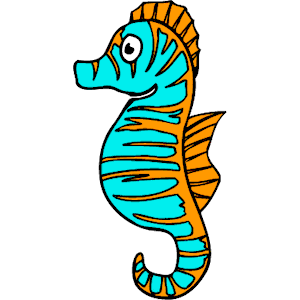 300x300 Seahorse Clip Art Free Clipart Images 6 2
