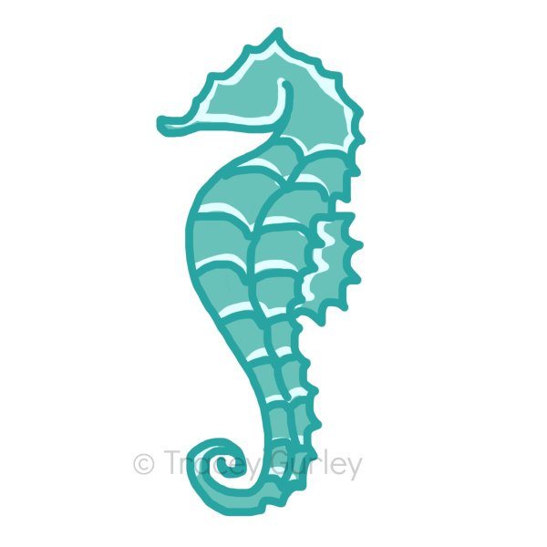 600x600 Seahorse Clip Art Free Free Clipart Images 2